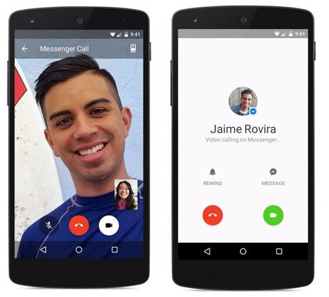 facebook messenger free video calling feature is now