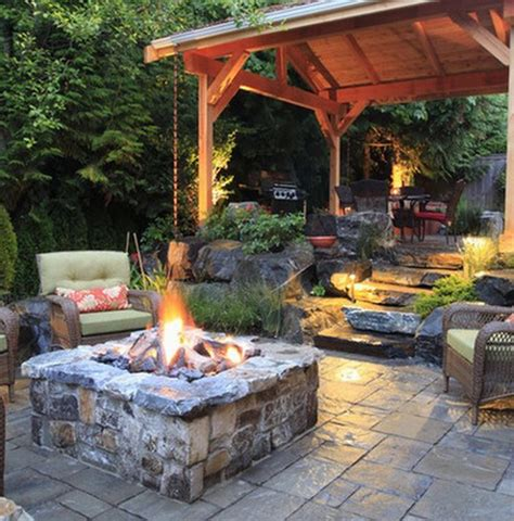 Idea For Backyard Backyard Patio Ideas Landscaping Gardening Ideas
