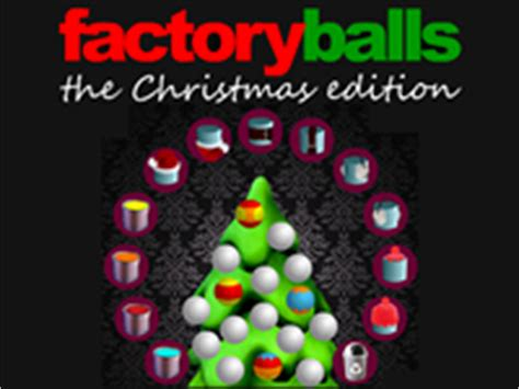 factory balls the christmas edition play factory balls