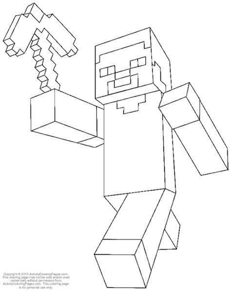 minecraft coloring pages steve with armor minecraft diamond armor steve coloring coloring pages