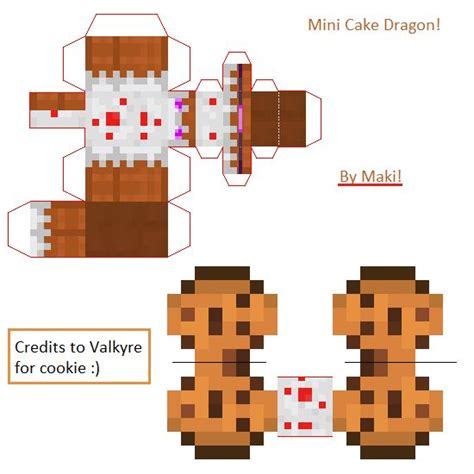 Minecraft Papercraft Cake - 231 best images about minecraft on armors