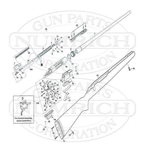 marlin c 9 parts diagram marlin glenfield model 70 parts diagram engine diagram