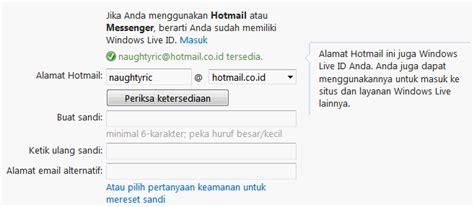membuat email hotmail cara membuat email hotmail oneway computer