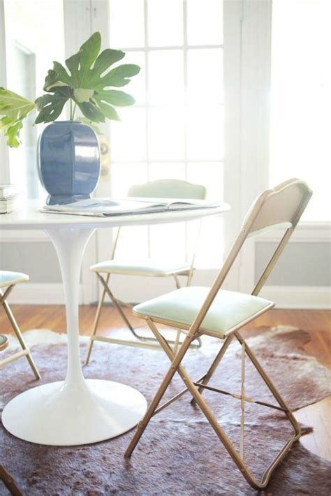 spray paint chairs white why don t you spray paint some folding chairs gold and