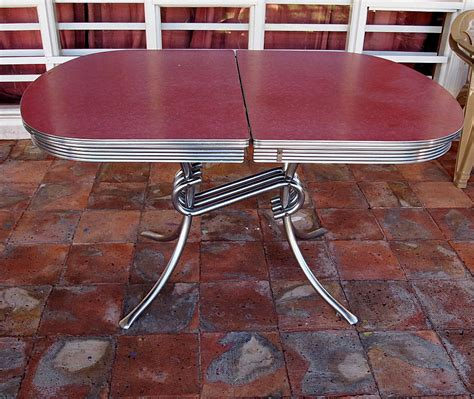 formica kitchen table vintage formica kitchen table raspberry chrome spider legs