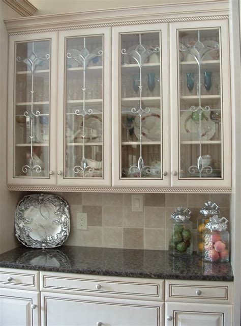 Nice Cabinet Door Fronts Http Thorunband Net Nice Kitchen With Glass Cabinet Doors