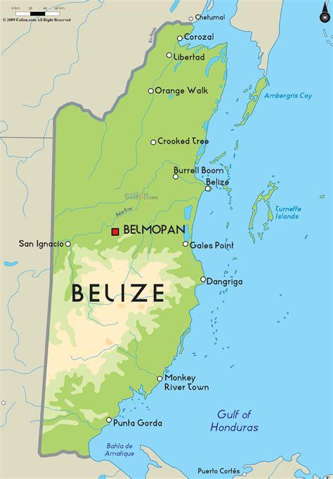 map of belize central america map of belize belize frb