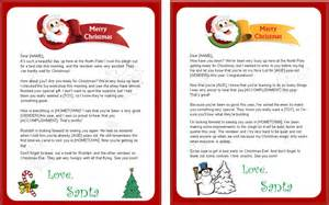 Free Santa Reply Letter Template 8 Best Images Of Free Printable Letters From Santa Claus