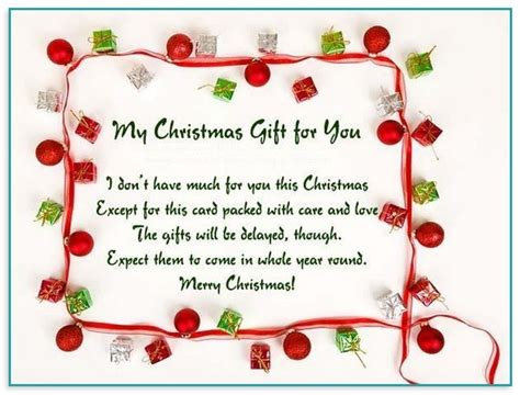 christmas card message  child