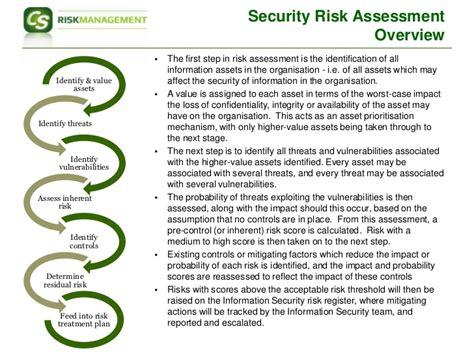iso 27001 risk assessment template iso27001 risk assessment approach