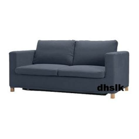 ikea blue sofa bed ikea karlanda sofa bed slipcover cover lindris dark blue bezug