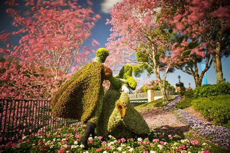 disney flower and garden coming to disney world and disney cruise line in 2014