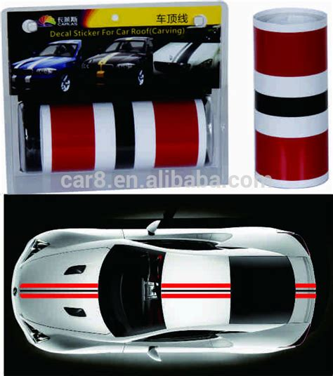 Auto Decals Racing Stripes by Auto Roof Line Sticker Car Decal Sports Racing Stripes