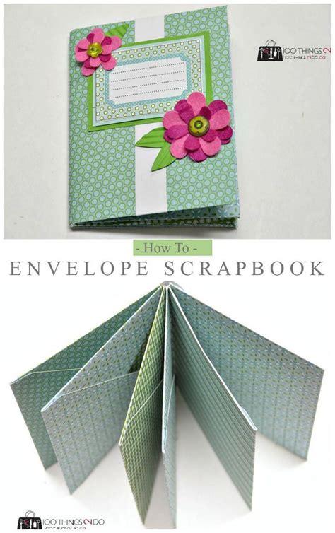best 25 envelope scrapbook ideas on diy mini
