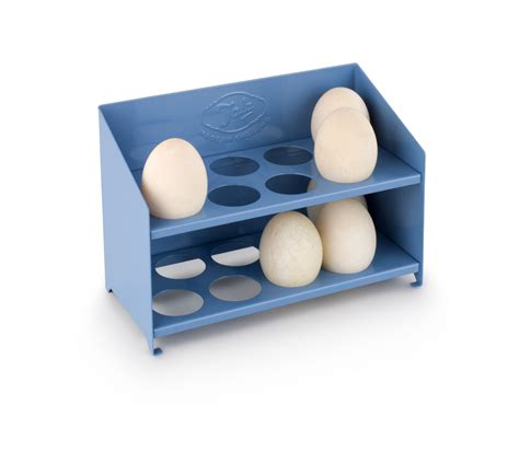 Egg Rack by Tala Blue Enamel 1930 S 16 Egg Storage Rack Holder Vintage