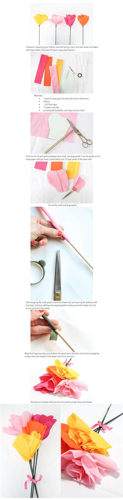 crepe paper flower tutorial new and improved 98 best images about crepe paper flowers on pinterest