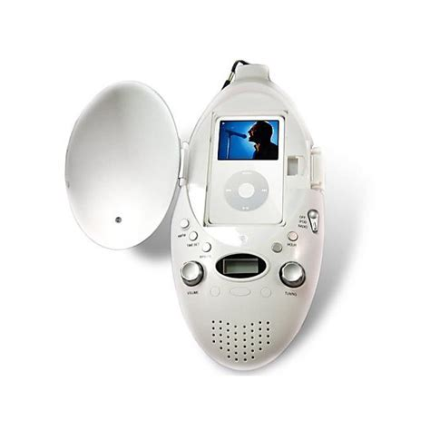 Shower Mp3 Player by Iconcepts Mp3 Player Shower Speaker With Am Fm Radio And