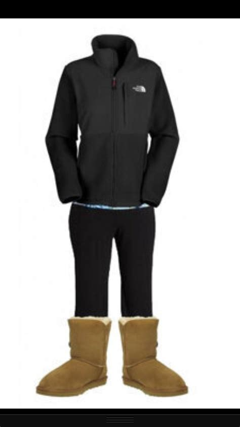 north face are uggs still in style 2014 north face yoga pants and uggs my style if i were