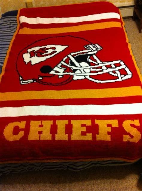 crochet pattern kansas city chiefs afghan kansas city royals kansas city and afghans on pinterest