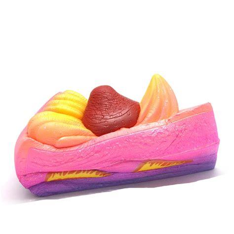 Kiibru Pink Slice Cake Squishy kiibru galaxy cake slice shortcake squishy charm 183 kawaii squishy shop 183 store