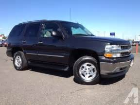 Chevrolet Tahoe 2005 For Sale 2005 Chevrolet Tahoe Sport Utility Ls For Sale In Colona