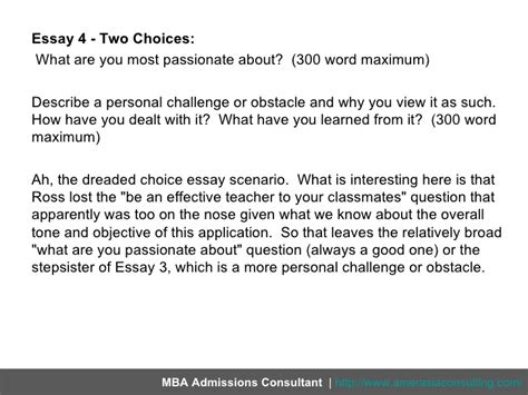Personal Challenges Essay by Breaking The New 2012 Essays For Ross