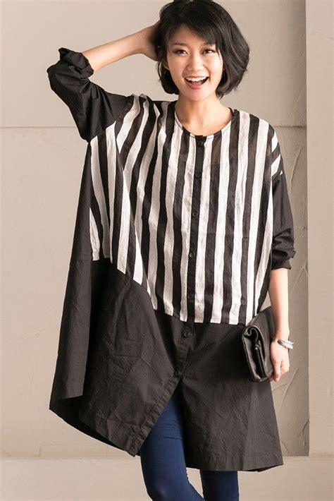 Kemeja Korea Stripe Pearl Xxxl Big Size 17 best images about cotton linen dress fantasylinen on cotton linen korean style
