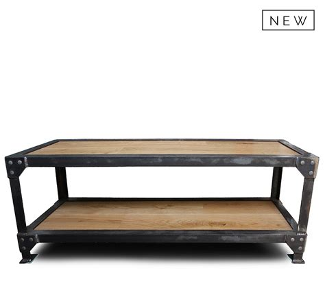 industrial look coffee table industrial coffee table style matters