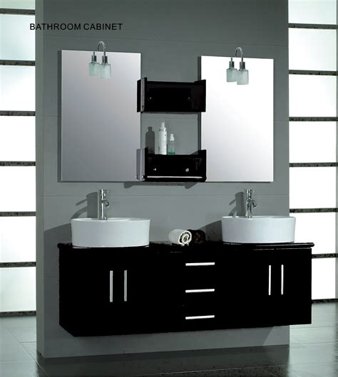 Modern Wood Bathroom Vanity Solid Wood 59 Quot Modern Sink Bathroom Vanity