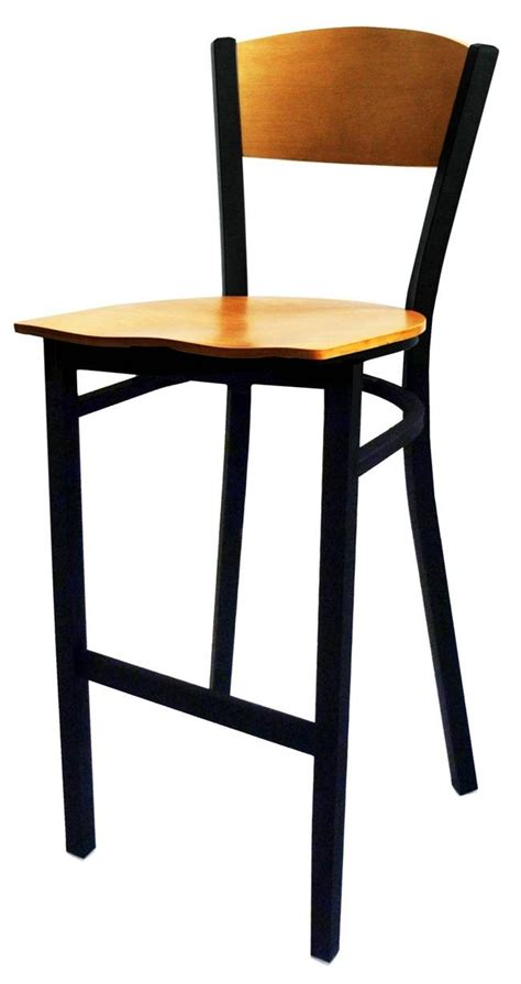 411 wood frame commercial bar stools wholesale barstool all about furniture mc350p bs ws restaurant plain back bar