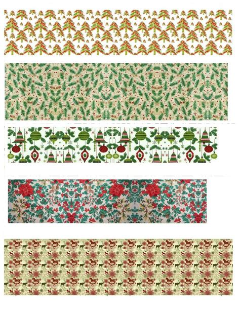 printable miniature christmas wrapping paper 155 best 46 christmas printies images on pinterest