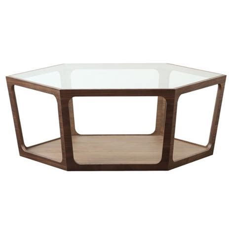 abbyson living belfast walnut coffee table target