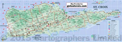 map st islands maps of st croix island maps st croix usvi