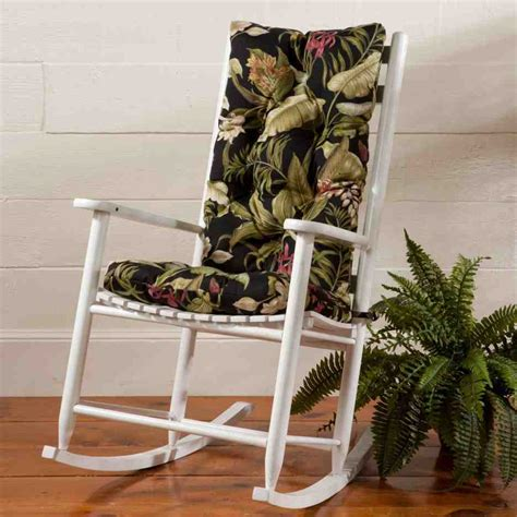 Outdoor Rocking Chairs With Cushions by Outdoor Rocking Chair Seat Cushions Home Furniture Design