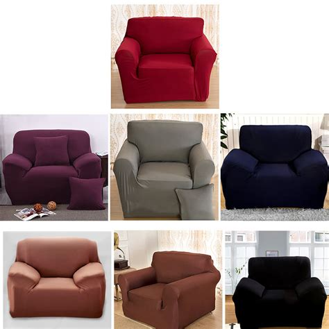 Where To Get Sofa Covers by Stretch Chair Cover Sofa Covers Seater Protector