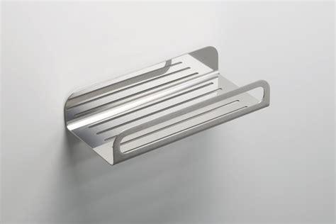mensola in acciaio mensola bagno in acciaio inox ritmonio accessories