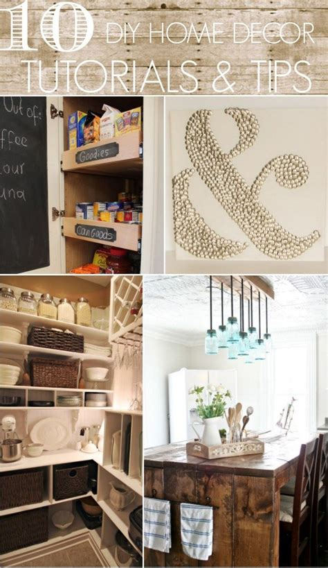 10 diy home decor tutorials tips home stories a to z