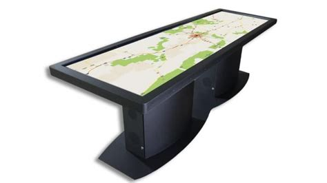 touch screen desk surface ideum pano touchscreen desk 1 jpg
