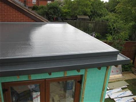 fibreglass flat roof system northampton grp flat roofing