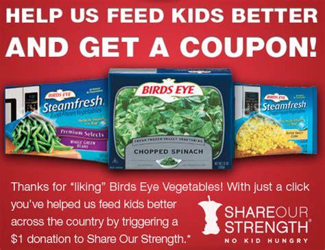 printable frozen vegetable coupons 0 50 1 birds eye frozen vegetables coupon facebook offer