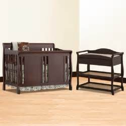 Verona Espresso Crib by Storkcraft Espresso Verona Convertible Crib And Aspen