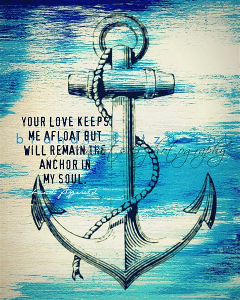 Items Similar To Love Anchors - items similar to anchor in my soul nautical decor love