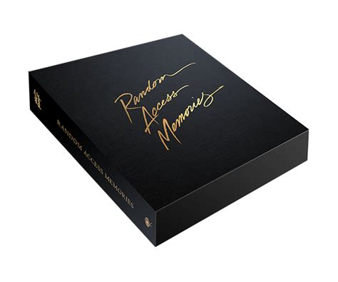 deluxe box daft random access memories deluxe box set edition