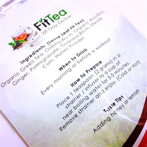 Jazz Detox Directions by Fit Tea Fitteadetox Stuff I Shop