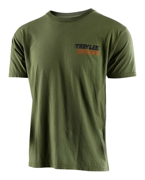 T Shirt Thor Motocross Green 002 Zero X Store troy let t shirt cycle gear