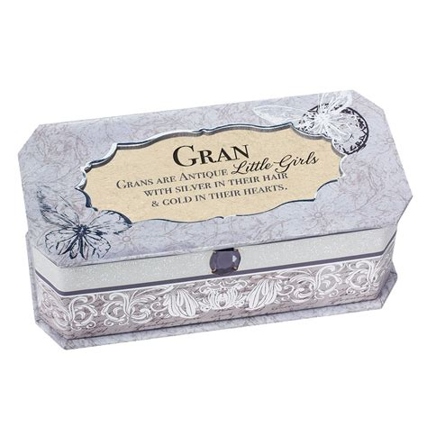 gifts for grandmas cottage garden musical jewellery box gift for gran