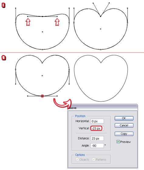 illustrator pattern move how to create a set of heart icons in adobe illustrator