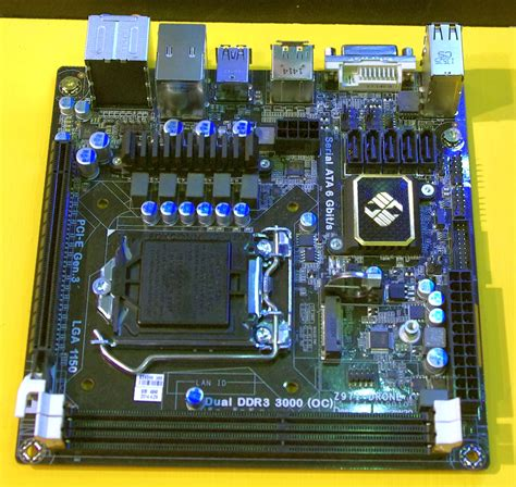Ecs Drone Series computex 2014 ecs z97i drone mini itx motherboard and
