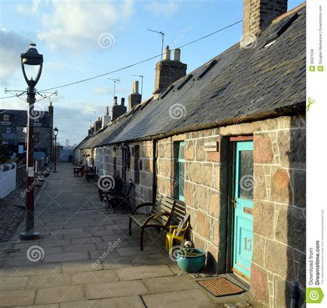 Cottages Aberdeen by Former Fisher Cottages At Footdee Aberdeen Scotland