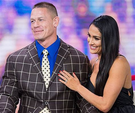 nikki bella engaged john cena nikki bella s wedding plans will they marry